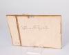 Ne felejtsd el...türkizkék vintage tábla- krétás
