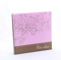 Fotóalbum - virágmintás, lila