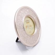 Kör alakú képkeret - patina arany