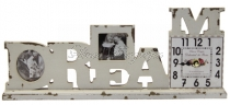 Álló óra -DREAM felirattal 2 képpel