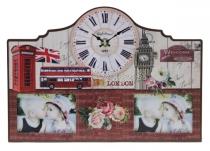 Fali óra saját képpel - Anglia