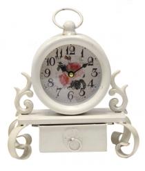Vintage stílusú óra -ékszertartó