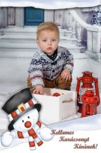 Karácsonyi képeslapok saját fotóval