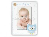 Simone kék babás képkeret