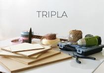 Klasszik táblakép fából - TRIPLA