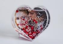 Fotógömb szív alakú