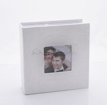 Fotóalbum - Fehér selyem